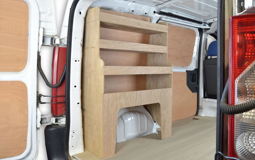 Fiat Scudo 2007 2016 Van Storage Racking Shelving Wr31