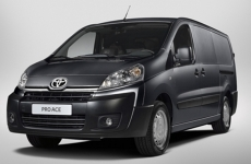 Toyota Proace roof bars