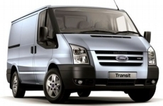 Ford Transit SWB low roof 2001-2013 Rear Door Ladders