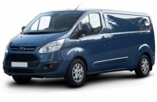Ford Transit Custom LWB Low Roof Steel Shelving