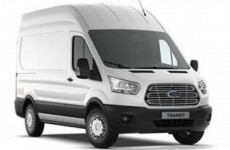 Ford Transit 2014 on LWB High Roof (L3H3) Rear Door Ladders