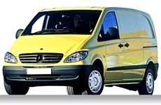 Mercedes Vito Compact 2003 on Roofbar Accessories