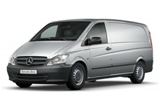 Mercedes Vito LWB 2003 on Roofbar Accessories