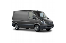 Mercedes Sprinter SWB 2006 on Rear Door Ladders