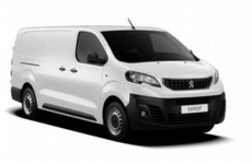 Peugeot Expert 2016 Onwards LWB (L3H1) Roofbar Accessories