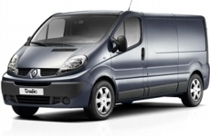 Renault Trafic LWB low 2001-2014 Roofbar Accessories