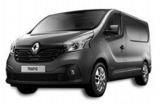 Renault New Trafic LWB low 2015 on Rear Door Ladders