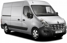 Renault Master L2H2 MWB 2010 onwards Roofbar Accessories