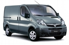 Vauxhall Vivaro SWB low 2001-2014 Steel Shelving