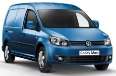 Volkswagen Caddy MAXI 2010 Onwards Rear Door Ladders