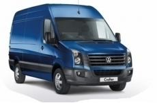Volkswagen VW Crafter MWB 2006 - 2017 Pipe Carriers