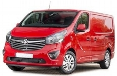 Vauxhall Vivaro SWB low 2015 to 2019 Roof Bars