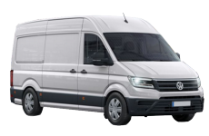 Volkswagen VW Crafter LWB 2017 On Roof Racks