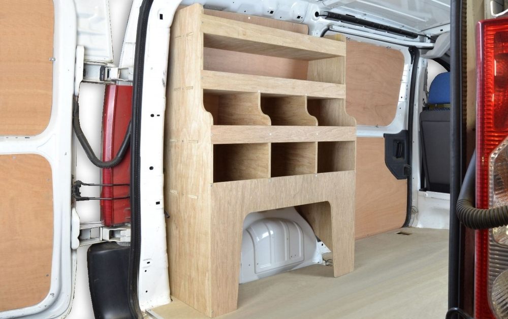 Fiat Scudo 2007 2016 Van Storage Racking Shelving Wr30