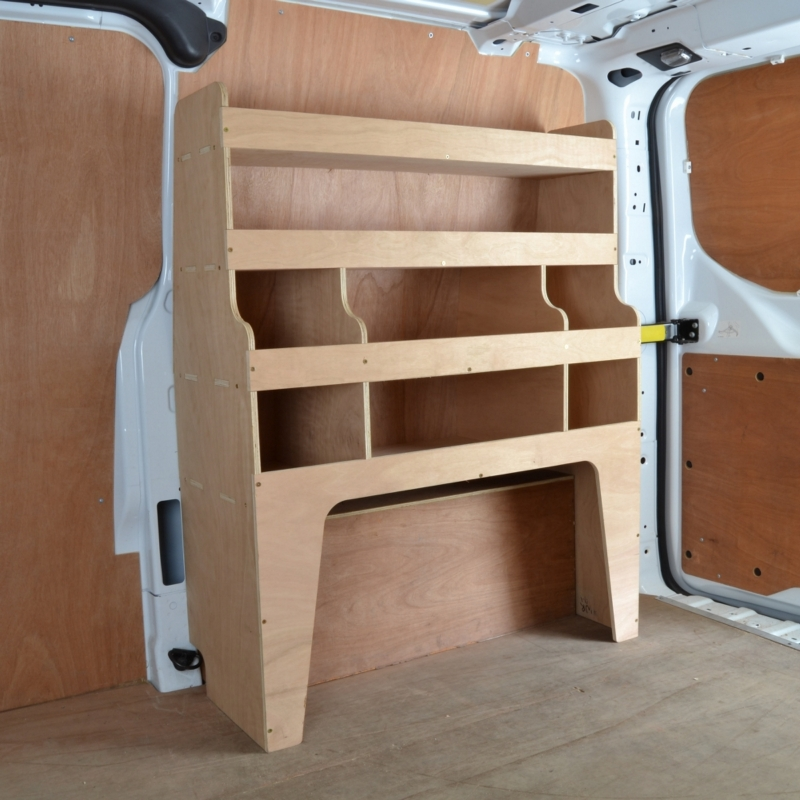 Ford Transit Custom Plywood Van Racking Shelving Unit