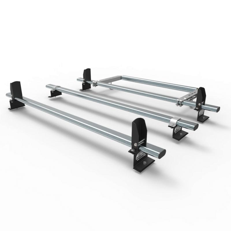 Nissan Nv200 Aero Tech 3 Bar Roof Rack System Load Stops