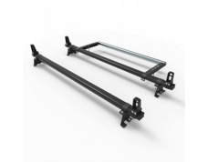 Citroen Dispatch Roof Rack bars 2016 onwards ALUMINIUM Stealth 2 bar Load Stops and Rear Roller (DM127LS+A30)