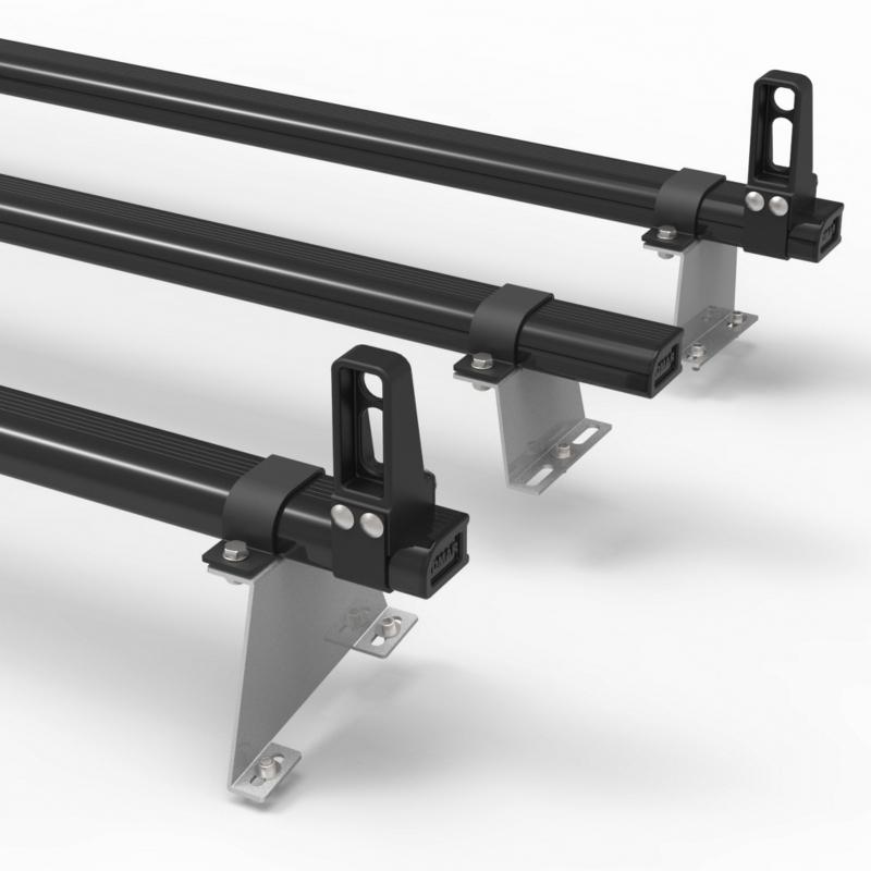 DM62LS Peugeot Bipper 3 Bars Roof Rack with Load Stops