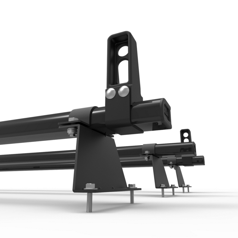 Renault Trafic Roof Rack Aluminium Stealth 3 Bar Load