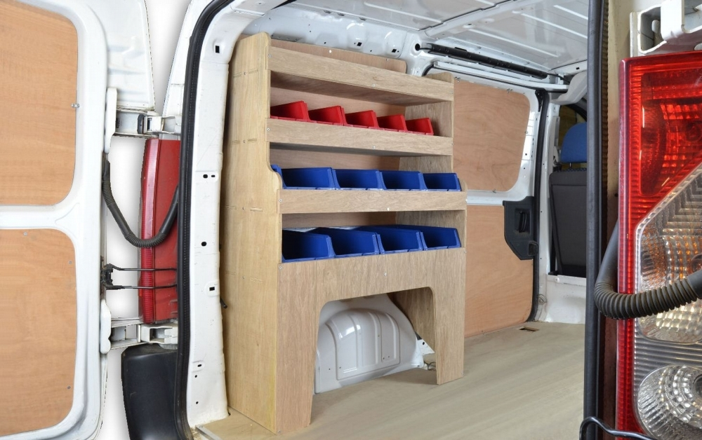 Toyota Proace Van Storage Racking Shelving Wr32 Wr32