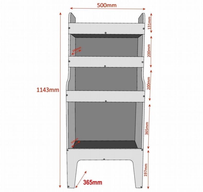 Vauxhall Vivaro Plywood Van Racking Shelving Package