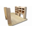 Vauxhall Movano Plywood Van Racking - Shelving Package - WRK1.1.3