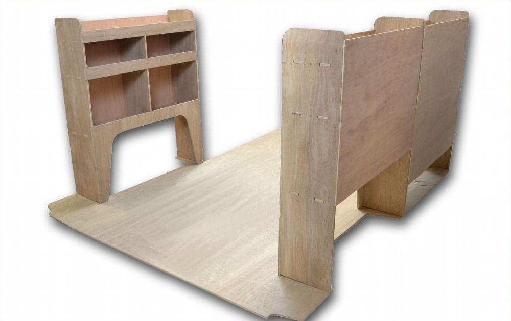 Renault Trafic Plywood Van Racking Shelving Package