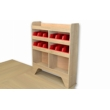 Nissan NV400 Plywood Van Racking - Shelving Package - WRK1.1.4